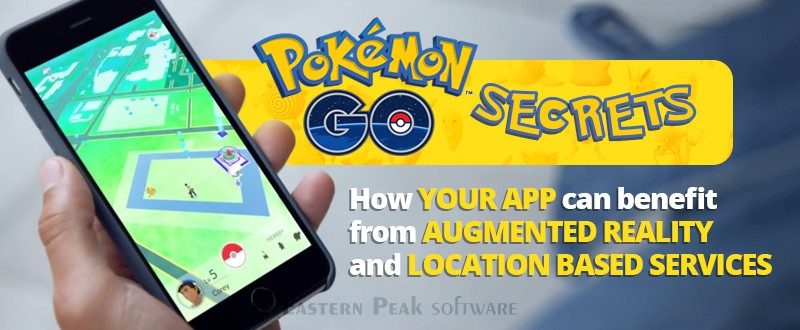 Pokémon Go. Augmented Reality and location based services.